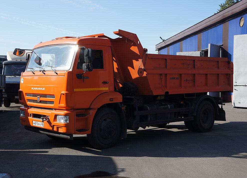 Trucks and dump trucks